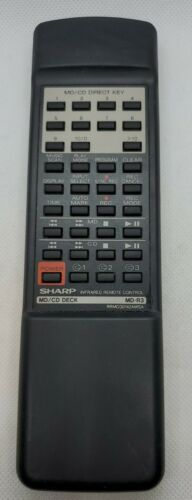 Sharp Remote Control MD/CD MD-R3 Component System RRMCG0142AWSA - $21.91