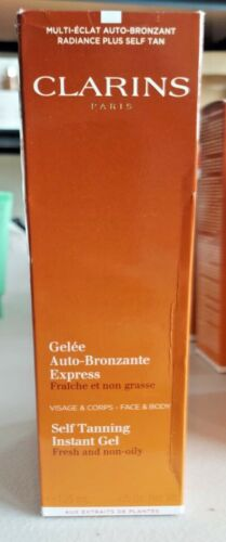 Clarins Self Tanning Instant Gel 4.5oz- SEALED IN BOX