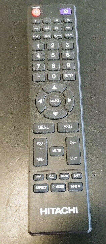Hitachi LE49A509 original Remote with Battery Cover