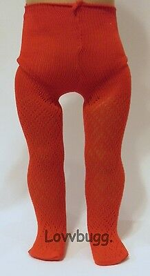 "Lovvbugg Red Diamond Lattice Tights for 18"" American Girl Doll Clothes Accessory"