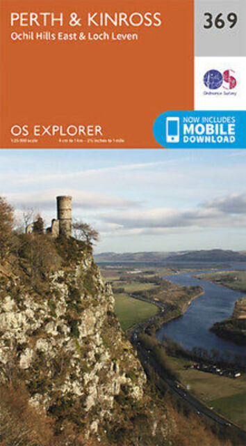 Perth and Kinross Explorer Map 369 Ordnance Survey
