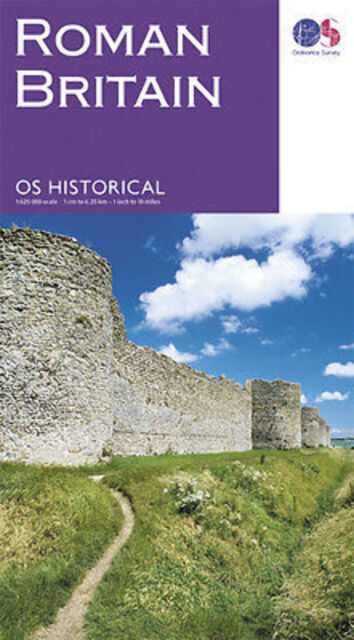 Roman Britain Ordnance Survey map monuments sites
