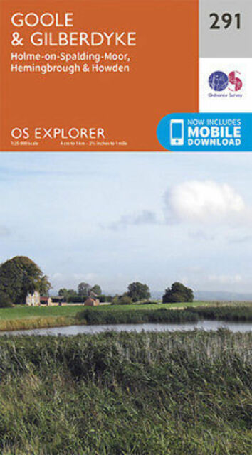 Goole and Gilberdyke Explorer Map Ordnance Survey 291