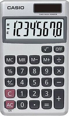 Casio SL300 8-Digit Handheld Calculator 8 Digits Battery/Sol