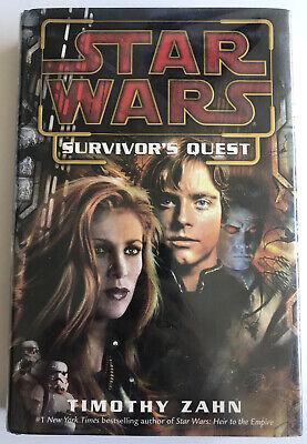 Star Wars - Survivors Quest - Timothy Zahn - First Edition Hardback.
