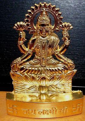 Lakshmi  Idol Statue  Hindu God Goddess Laxmi Diwali Puja Wealth Statue Diwali