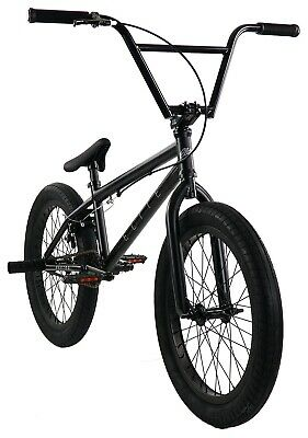 "Elite 20"" BMX Destro Bicycle Freestyle Bike 3 Piece Crank Black Grey NEW 2019"