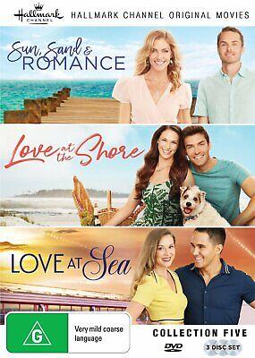 HALLMARK 3 Film Collection (Region Free) DVD Sun Sand Romance Love Shore Sea