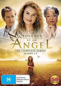TOUCHED BY AN ANGEL - COMPLETE SEASON 1 to 9  - DVD - Region 2 UK Compatible