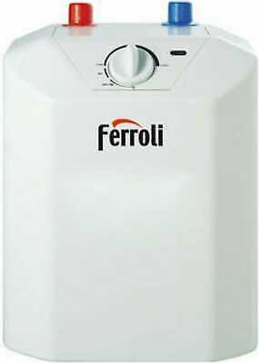 Ferroli Scaldabagno Elettrico 5 Litri ad Accumulo Sottolavello GRWDXASA Novo 5s