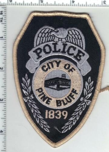 Pine Bluff Police (Arkansas) 1st Issue Narrow Shoulder Patch