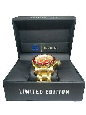 Invicta DC Comics The Flash Men's Watch Automatic 26827 52mm Big Face