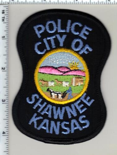 City of Shawnee Police (Kansas) Shoulder Patch - new from 1997