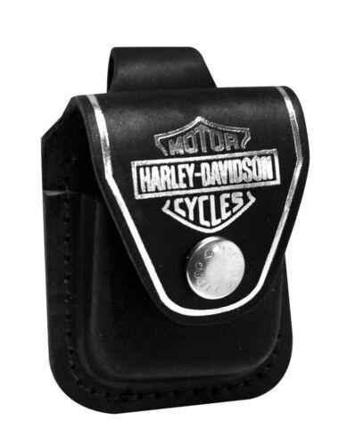 Zippo Harley Davidson Black Lighter Pouch