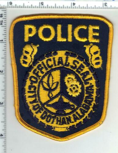 Dothan Police (Alabama) 1st Issue Shoulder Patch