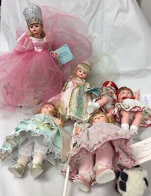 Lot of 6 Vintage Madame Alexander dolls, Cherry Twins, Glinda, Rapunzel, & more!