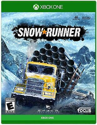 SnowRunner (Xbox One) New Factory Sealed Free Shipping XB1