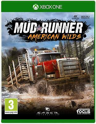 Spintires MudRunner American Wilds Edition Microsoft Xbox One XB1 New and Sealed