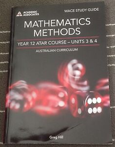 Year 11 & 12 Mathematics, Geography & PE Studies Text Books Mount Lawley Stirling Area Preview