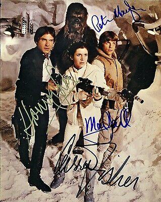 Star Wars Cast Signed 8x10 Autographed Photo Reprint