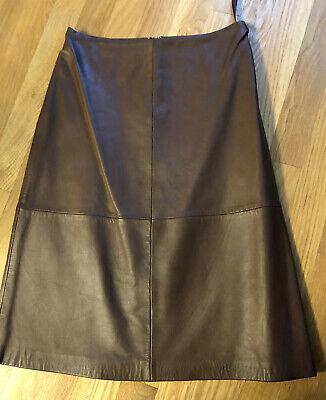 New NWT Gap Leather Skirt Sz0