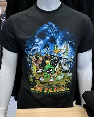 Six Flags Magic Mountain Exclusive Zombies Looney Tunes T-Shirt Size 2XL New