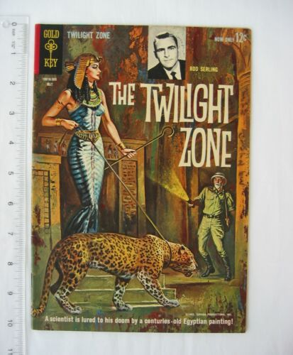 The Twilight Zone #3 Gold Key Comic Vintage 1963 - Egyptian Queen in Tomb Cover