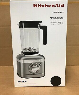 KitchenAid Variable Speed Blender K400 56 Oz with tamper KSB4028BM - (Black)