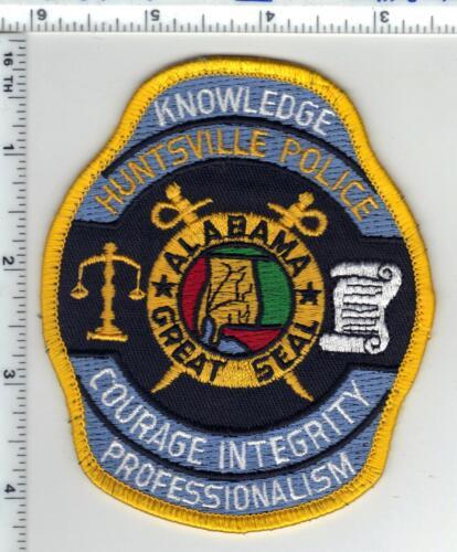 Huntsville Police (Alabama) Shoulder Patch - Uniform Take-Off from the 1980
