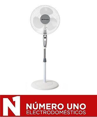Ventilador de Pie Orbegozo SF 0147, Blanco, 50 W
