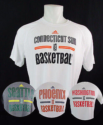 WNBA Adidas Climalite/Aeroknit Men's On Court Shooting Shirt Multi-Team Adidas Shooting Shirts