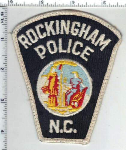 Rockingham Police (North Carolina) 1st Issue Uniform Take-Off Patch