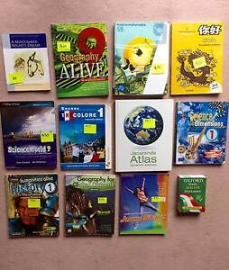 Year 7-9 textbooks for sale Balwyn Boroondara Area Preview