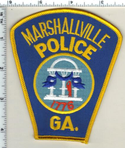 Marshallville Police (Georgia)  Shoulder Patch - new from 1990