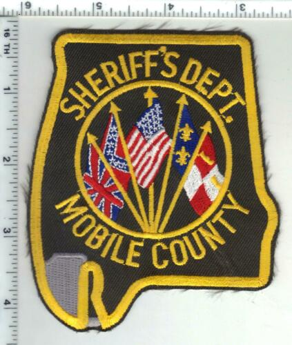 Mobile County Sheriff (Alabama) 3rd Issue Shoulder Patch