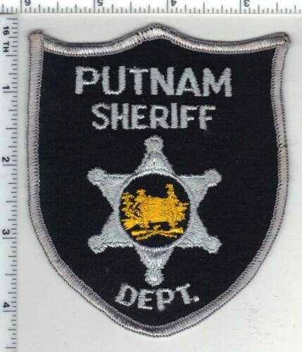 Putnam Sheriff Dept. (West Virginia) 2nd Issue Shoulder Patch