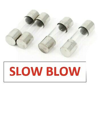 8A 5pcs GMA 8A 125V Fast Blow GLASS Fuses 5x20mm NEW