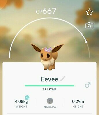 Pokemon Go | Flower Crown Eevee Trade
