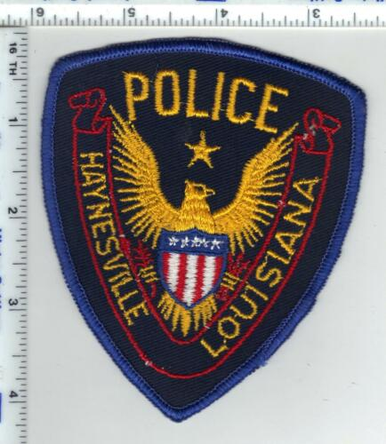 Haynesville Police (Louisiana)  Shoulder Patch - new from the 1980
