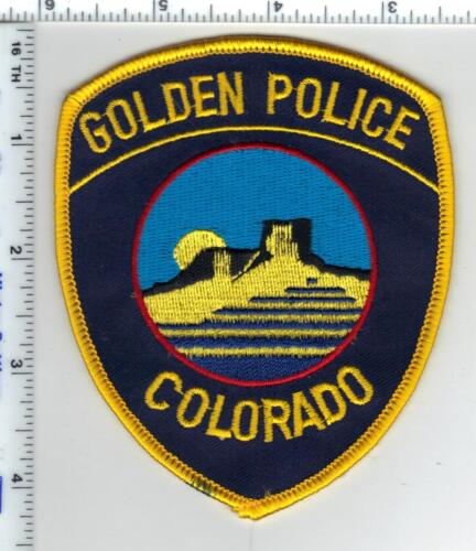 Golden Police (Colorado) Shoulder Patch - new from the 1980
