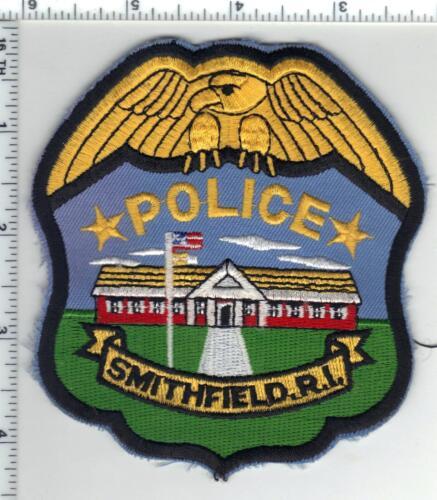 Smithfield Police (Rhode Island) 2nd Issue Shoulder Patch