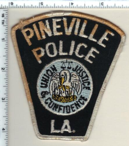 Pineville Police (Louisiana)  Shoulder Patch - new but stained - from 1992