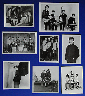 Beatles 1959 - 1961, Set von 8 raren Foto Karten Neu, John Lennon Paul McCartney