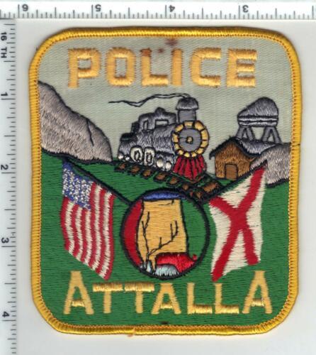 Attalla Police (Alabama) 2nd Issue Uniform Take-Off Shoulder Patch