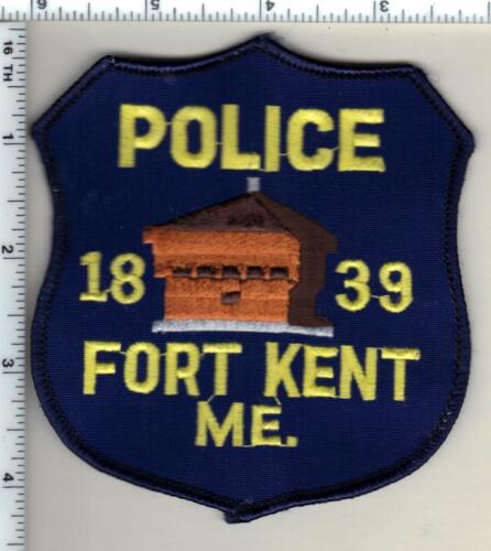 Fort Kent Police (Maine) Shoulder Patch - new from 1992
