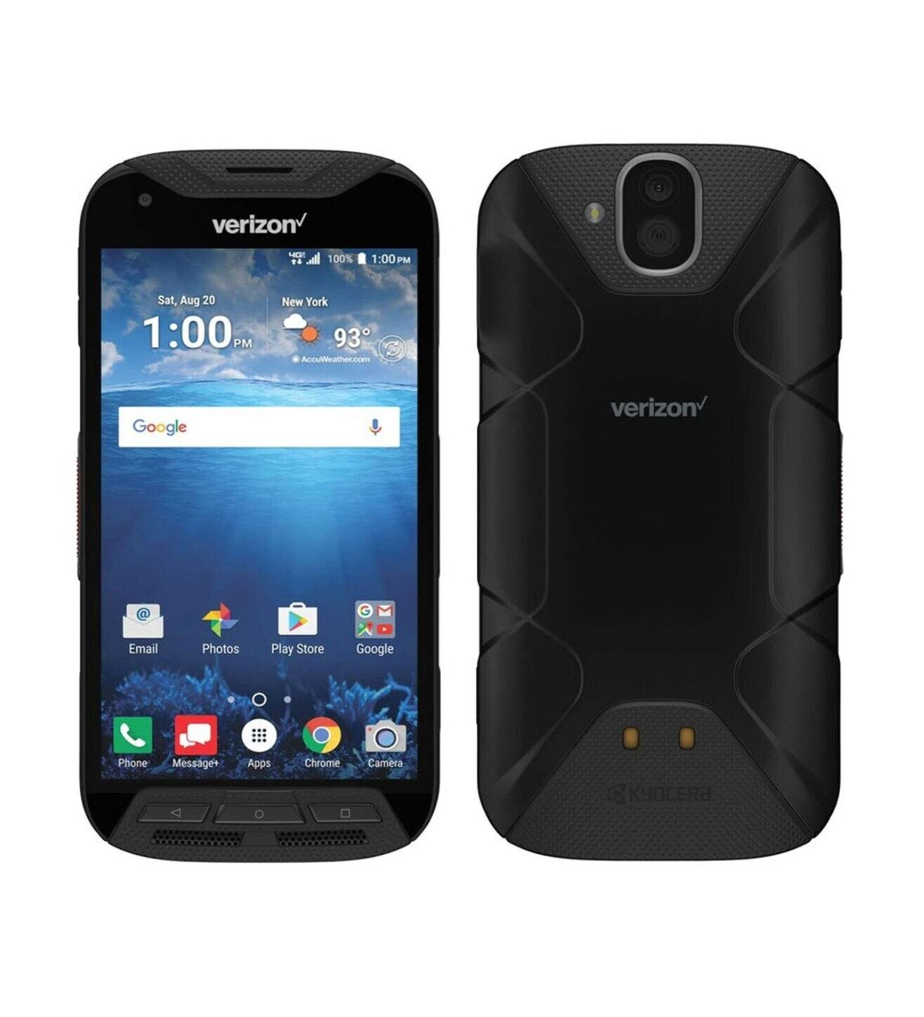 Android Phone - NEW Kyocera DuraForce PRO E6810 32GB Black Verizon 4G Unlocked Android Rugged