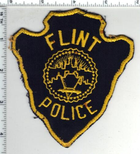 Flint Police (Michigan) 2nd Issue Uniform Take-Off Shoulder Patch