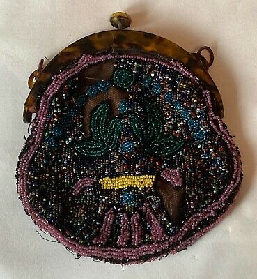 1920s Handbags, Purses, and Shopping Bag Styles Beautiful Vintage beaded 20's purse/ handbag collectable  $27.64 AT vintagedancer.com