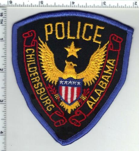 Childersburg Police (Alabama) 1st Issue Shoulder Patch