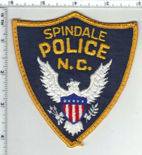 Spindale Police (North Carolina) 2nd Issue Uniform Take-Off Patch